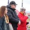Гл.секретарь - Наталья Шарыпова (Челябинск), Гл.судья - Андрей Неруш (Нижний Тагил) и хозяин стенда